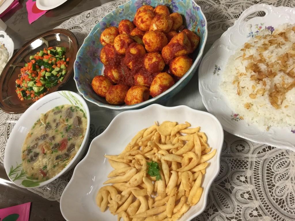 2018年3月横浜発国際料理教室インドネシアのニニンさんの出身地の郷土料理のご案内