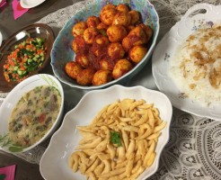 第5回国際理解集会料理