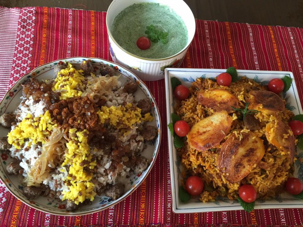 ?2016年3月横浜発国際料理教室イラン料理のご案内?