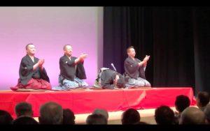 左から桂枝太郎師匠、桂歌助師匠、、柳亭小痴楽師匠、林家たい平師匠